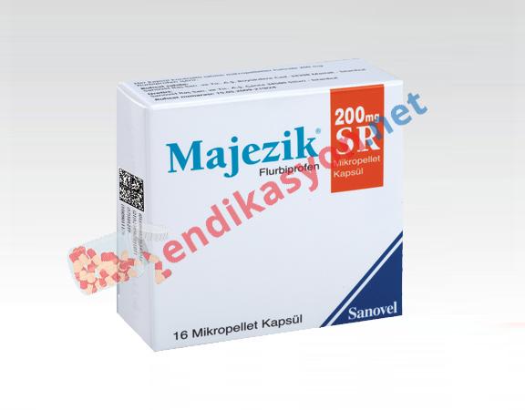 majezik-sr-200-mg-kapsul-flurbiprofen-agri-kesici-bas-agrisi-dismenore-adet-sancisi-dis-agrisi