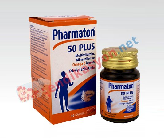 pharmaton-50-plus-omega3-kapsul-vitamin-eksikligi-endikasyon-prospektus